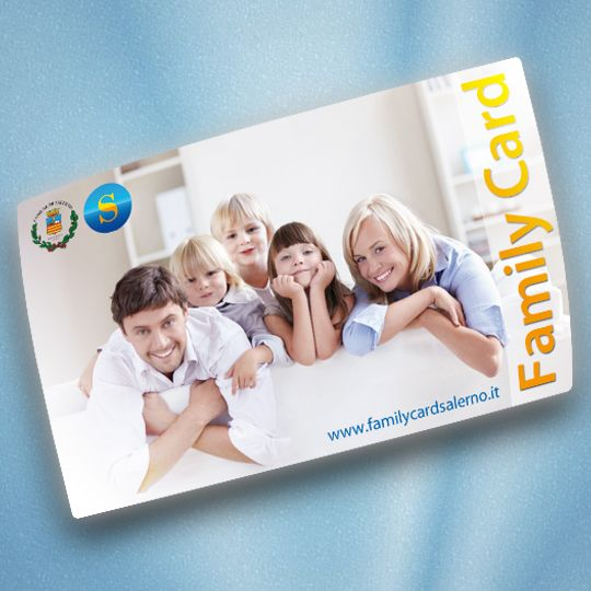 Salerno Family Card Circuito Wellcome Studio Nouvelle