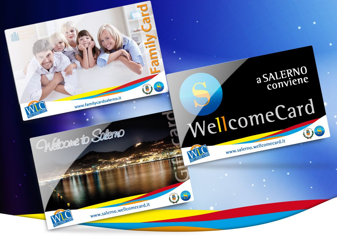 Salerno Wellcome Card