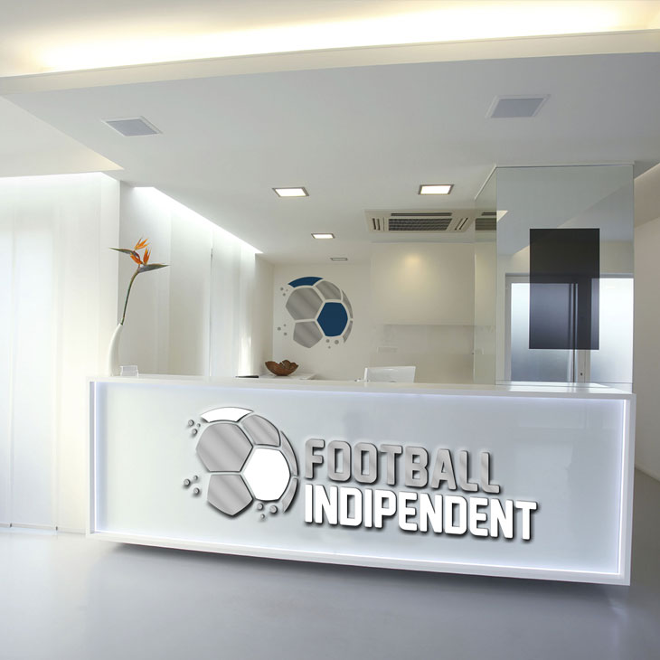 Football Indipendent Marchio Immagine Coordinata Aziednale Salerno Corporate Image Linea Grafica 8